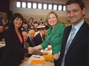 Julia Klöckner und Christian Baldauf gratulieren zum besten Stimmergebnis in Rheinland-Pfalz.